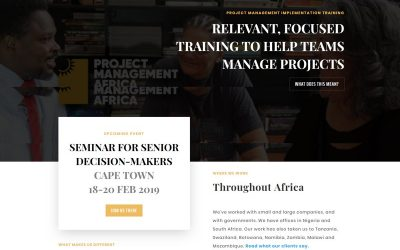 Project Management Africa